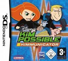 NINTENDO DS 3DS KIM POSSIBLE KIMMUNICATOR Neuwertig