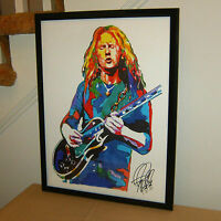 Jerry Cantrell Alice in Chains Rooster Guitar Music Poster Print Wall Art 18x24