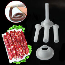 3X Meat Grinder Handmade DIY Sausage Stuffing Tube Meat Maker Stuffer Homemake m