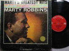 Country Lp Marty Robbins Marty'S Greatest Hits On Columbia