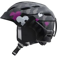 Giro Nine10 Girls Ski Snowboard Helmet Black Hearts Helix NEW skiing Kids