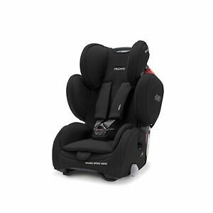Recaro Young Sport Hero Deep Black Child Seat (9-36 kg) (19-79 lbs) NEW!