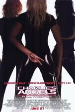 """CHARLIE/'S ANGELS FULL THROTTLE POSTER 27/"""" X 40/"""" 2003 ORIGINAL,OUTDOOR CAMPAIGN"""
