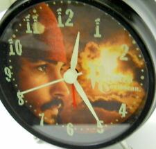 Disney Pirates of the Caribbean Alarm Clock Johnny Depp Cap. Jack Sparrow Face