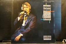 Roland Kaiser - Live In Concert     2 LPs
