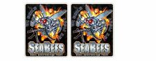 2x Seabees Can Do U.S. Naval Construction Force We Fight Sticker Printed Car