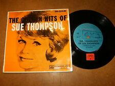 SUE THOMPSON - THE GOLDEN HIT OF - EP NEW ZELAND HMV 6088 / LISTEN -TEEN POPCORN