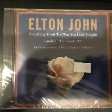 """""""Something About The Way You Look Tonight"""" by Elton John (CD  Rocket) SEALED"""