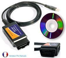 Outil Diagnostique Détecteur de panne automobile multimarque OBD2 ELM327 USB