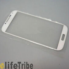 Front Glass Outer Lens Touch Screen Cover for Samsung Galaxy S4 GT-i9500 - White