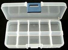 10 scomparto Organizer nella casella Dimensioni circa 13cm lunga, 7 cm di larghezza, 2,3 cm di altezza