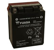 Genuine Yuasa YTX14AH-BS Moto Batterie Inc Kit De Remplissage