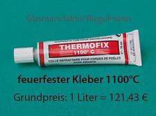 Ofenkleber Kaminkleber Thermofix für Dichtungen - Feuerfest 1100 °C  70 ml