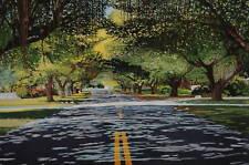 """Print  Artwork Repro Dealer 1970-1989, Famous Places Reailsm 36""""X25.5"""" Corosio"""