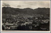 Cetinje Jugoslawien Montenegro Postkarte ~1930/40 Gesamtansicht Panorama