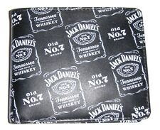 Jack Daniels Signature Label Bill Fold Wallet