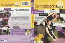 Eva Barash Livingroom Yoga Prenatal Workout Dvd New + Prenatal Meditation Cd New