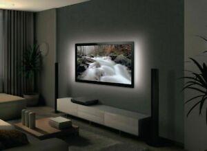 STRISCIA LED USB Retro illuminazione Led USB KIT TV  90cm