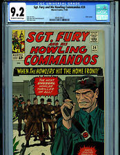 Sgt. Fury and His Howling Commandos #24 CGC 9.2 1965 Marvel Comic Amricons B19