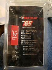 "Red Head 1/2"" G5 Adhesive Heavy Duty Wire Brush- 08411"