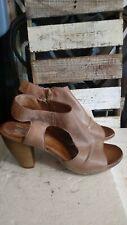 Miz Mooz Verona Collection nude tan Michelle Sandals Shoes Slingback 40 9