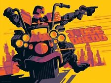 JUDGE DREDD TOM WHALEN 2016 variant Limited edition print #40 18x24 Mint 2000 AD