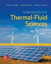 Fundamentals of Thermal-Fluid Sciences by Cengel, Yunus, Turner, Robert, Cimbal