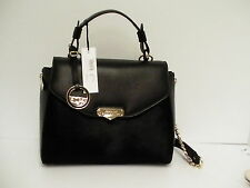 Versace collection handbag tote cavallino vitello stampa alce satchel pony hair