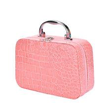 Nuevo Makeup Storage Bag Case Jewelry Box Leather Travel Cosmetic Organizer MO