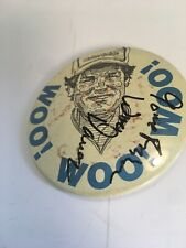 Woo Daves Autographed Button Fishing Pro