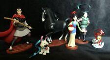 Disney Mulan Christmas Ornament Set Mushu, Khan, Li Shang, little brother, Mulan