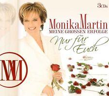 Monika Martin - Meine Großen Erfolge-Nur Für Euch 3CD NEU OVP VÖ 15.06.2018