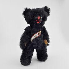 De Berlin Ours-Teddy avec Turquoise-Alt-Animal en Peluche-noir-vintage bear