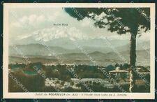Varese Golasecca Monte Rosa cartolina QK5592