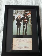 More details for sid vicious and nancy,sex pistols,punk a4 signatures,xmas gift/birthday