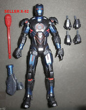 IRON MAN dark blue STEALTH ARMOR figure toy EXCLUSIVE marvel avengers universe