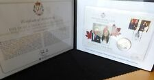 2011 SILVER CANADA $20 COIN PNC + COA WILLIAM & KATE CANADA ROYAL VISIT 1/195