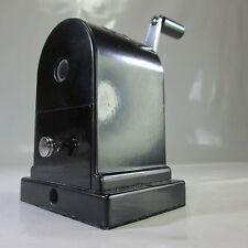 40er Jahre DAHLE Mod. 11 Anspitzer Kurbelanspitzer Bakelit Bleistiftanspitzer