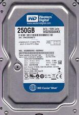wd2500aakx-00erma0 DCM: hhrnht2ch S/N: wmc2e WD 250GB SATA b4-9