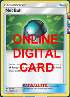 4X Net Ball 187/214 Pokemon Online Card TCG PTCGO Digital Card