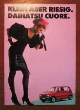 DAIHATSU Cuore - Orig. Prospekt (1988)