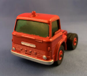 Vintage Lesney/Matchbox King Size K-17 Ford Tractor England Painted Red