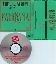 RADIORAMA-THE 2ND ALBUM-1987-SWEDEN-BEAT BOX BBCD 9033-CD-MINT-