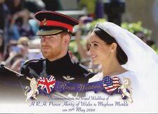 Orginalpostkarte aus London  Hochzeit Prinz Harry und Meghan Markle