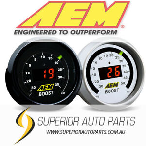 AEM Boost Gauge Kit -30 to 35psi - 30-4406