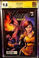 MARVEL Comics X-MEN GOLD #30 CGC SS 9.8 SHADOWCAT WOLVERINE GAMBIT DEADPOOL JEAN