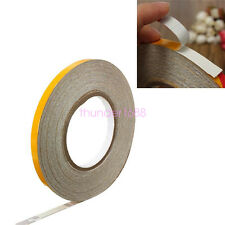 3M Yellow Reflective Body Stripe Trim DIY Sticker Tape Sticker Decal 1CMx150FT