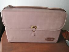 Vintage Mary Kay Consultant Makeup PINK Demo TUBE CASE Display Travel Bag