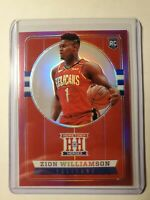 2019-20 Chronicles Zion Williamson Hometown Heroes Pink Prizm RC🔥 Possible 10?!