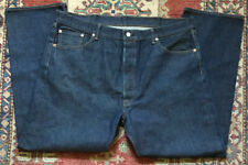 Gently Used Men's LEVI STRAUSS & Co 501s Heavy Blue Denim Levi's Jeans 42x32